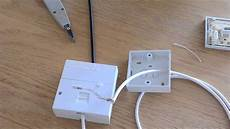 how to wire a phone extension from a bt master socket uk youtube