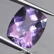 Batu Akik Kecubung Ungu Amethys batu akik permata kecubung ungu amethyst quartz asli kode
