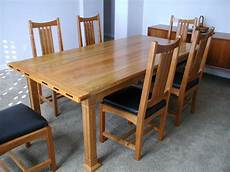 arts crafts dining table finewoodworking