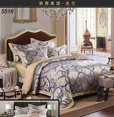 hot sale tribute silk bedding set classic palace style