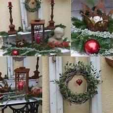Garten Im Winter Dekorieren - weihnachtsdeko auf der terrasse wohnen und garten foto