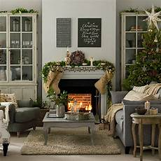 grey and taupe christmas living room decorating ideal home