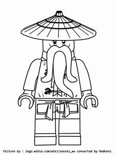 Lego Ninjago Ausmalbilder Sensei Wu Rainbow Dash Coloring Pages To Print Colorings Net