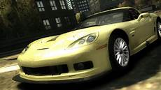 Chevrolet Corvette C6 - need for speed most wanted chevrolet corvette c6 r