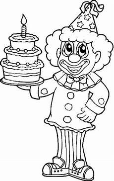 malvorlagen zum drucken ausmalbild clown kostenlos 1