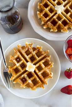 Belgian Waffles Recipe Tastes Better From Scratch