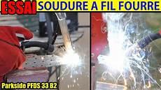 soudure fil fourré soudure 224 fil fourr 233 lidl parkside poste 224 souder pfds 33