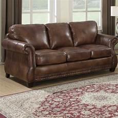 cognac leather sofa wayfair
