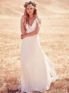 Brautkleid Boho Style - boho chic wedding dresses for summer 2019 fashiongum