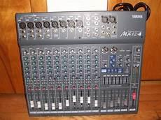 Yamaha Mx12 4 Pro Mixing Board Early 2000 Flat Gray Reverb