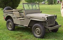 1942 Army Jeep Gallery