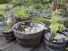 creation de bassin exterieur installer un mini bassin gardens fish ponds and water