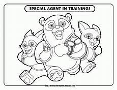 printable disney jr coloring pages with june on them