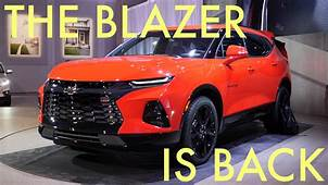 The Chevy Blazer Is Back  2019 Chevrolet Reveal