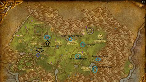 Arathi Highlands Map