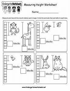 free non standard measurement worksheets for kindergarten 1865 free kindergarten measurement worksheets length height and weight with images