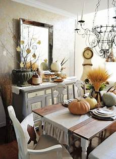 Home Decor Ideas For Dining Room by 30 Beautiful And Cozy Fall Dining Room D 233 Cor Ideas Digsdigs