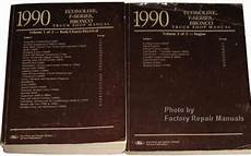 car repair manual download 1990 ford f series engine control 1990 ford f150 f250 f350 truck bronco econoline factory shop service manual set factory repair