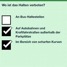 wo ist das halten verboten an bushaltestellen parken nicht verboten aber warum