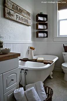 Bathroom Ideas Farmhouse by Bathroom Walls And Wainscot Painted White Wood Accents
