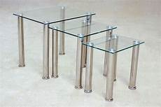 Nest Of Glass Coffee Tables