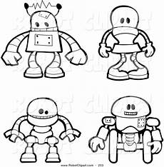 robot coloring pages free on clipartmag