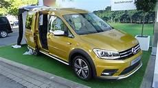 2017 volkswagen caddy alltrack exterior and