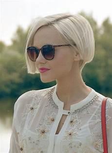 various short blonde bob hairstyles