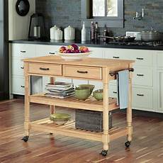 Kitchen Cart Maple by Home Styles Maple Kitchen Cart With Drawers 5318