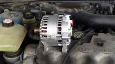 how to replace an alternator on a 2000 ford focus