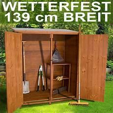 Kleiner Geräteschuppen Holz - holz ger 228 tehaus ger 228 teschuppen gartenschrank