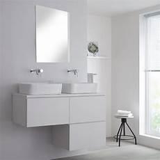 Meuble Pour Vasque 224 Poser Blanc Newington 120cm