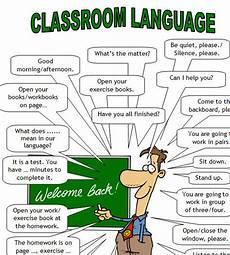 classroom language teacher
