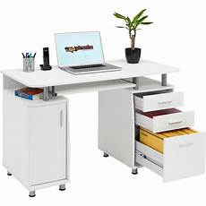 lade per scrivania computer desk with storage a4 filing drawer home office