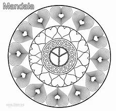 mandala coloring pages hearts 17922 printable mandala coloring pages for cool2bkids