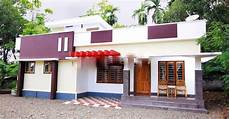 kerala style house plans with cost 1050 square feet 2 bedroom low budget kerala home design