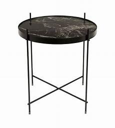 beistelltisch marmor schwarz metall schwarz 216 43x45cm