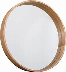 spiegel rund braun holz butik spiegel holz