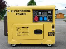 groupe electrogene silencieux diesel groupe electrogene diesel silencieux 5000w bricolage