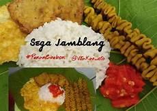 Resep Sega Jamblang Nasi Jamblang Khas Cirebon Oleh Vita