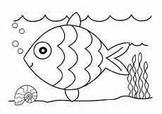 ausmalbilder fische und meerestiere malvorlagentv