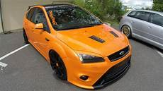 Ford Focus St Orange Colour Tuning Show Car Beast