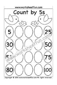 skip counting by 5 worksheets 2nd grade 12042 count by 5s 1 worksheet math worksheets counting in 5s skip counting free kindergarten