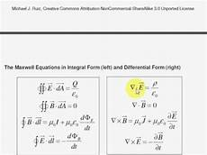 emt i1 the maxwell equations in differential form youtube