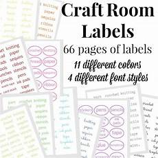 craft room labels organized 31