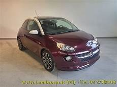 sold opel adam 1 2 70cv glam purpl used cars for sale