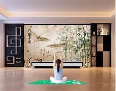 Papier Peint Asiatique Zen Personnalis 233 Paysage Avec Les