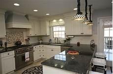Traditional Kitchen Peninsula by U Shaped Kitchen Traditional Kitchen Chicago By