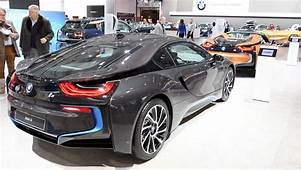 BRUSSELS BELGIUM  JANUARY 14 2014 BMW I8 Plug In