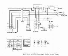 87 honda atv 250 wiring schematic 87 yamaha warrior wiring diagram wiring diagram networks
